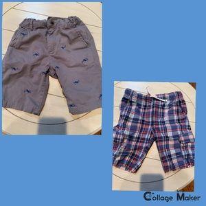 Like New Boys Childrens Place/Carter Shorts Bundle